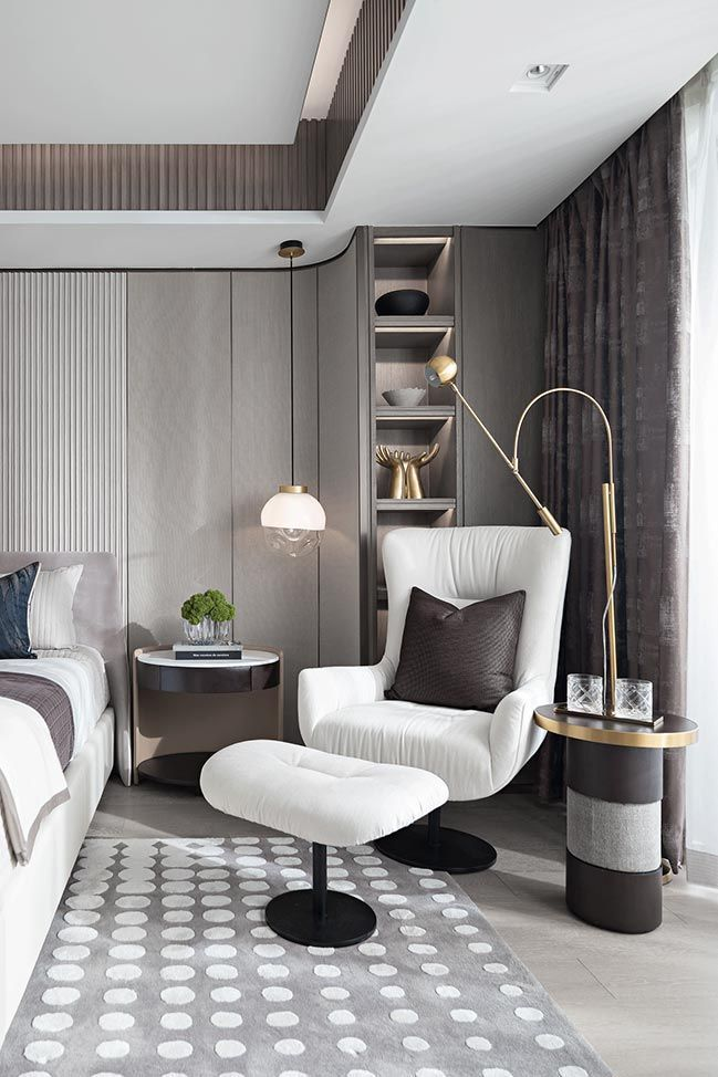 Take a  appearance at these  stunning bedrooms with  elegant colour  as well as …
