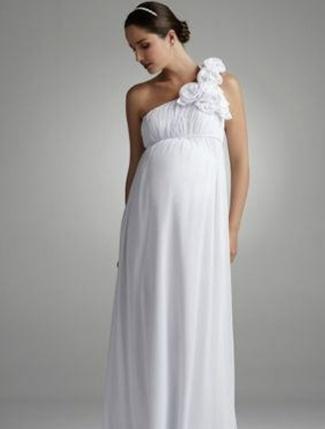 ugly maternity wedding dresses