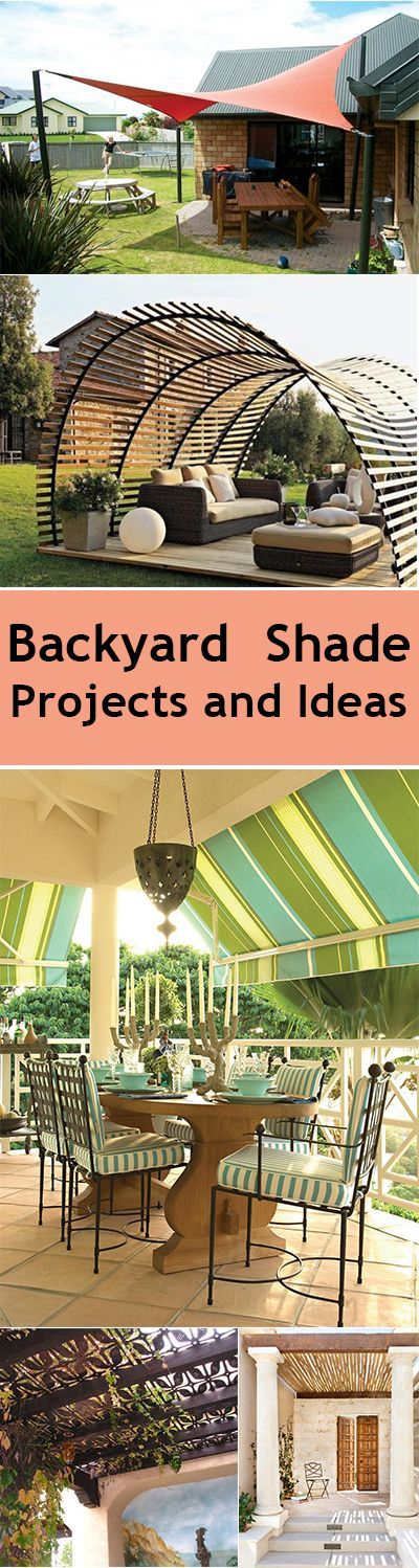 Backyard Shade Projects and Ideas