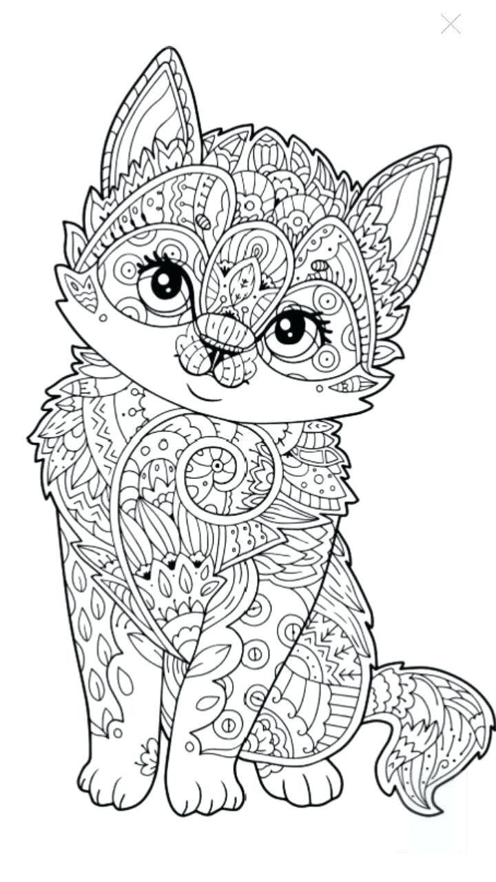 Coloring Pages Animals Cute Coloring Book Coloring Book Pages Hard Animals Cute Animal In 2020 Cat Coloring Page Cute Coloring Pages Owl Coloring Pages