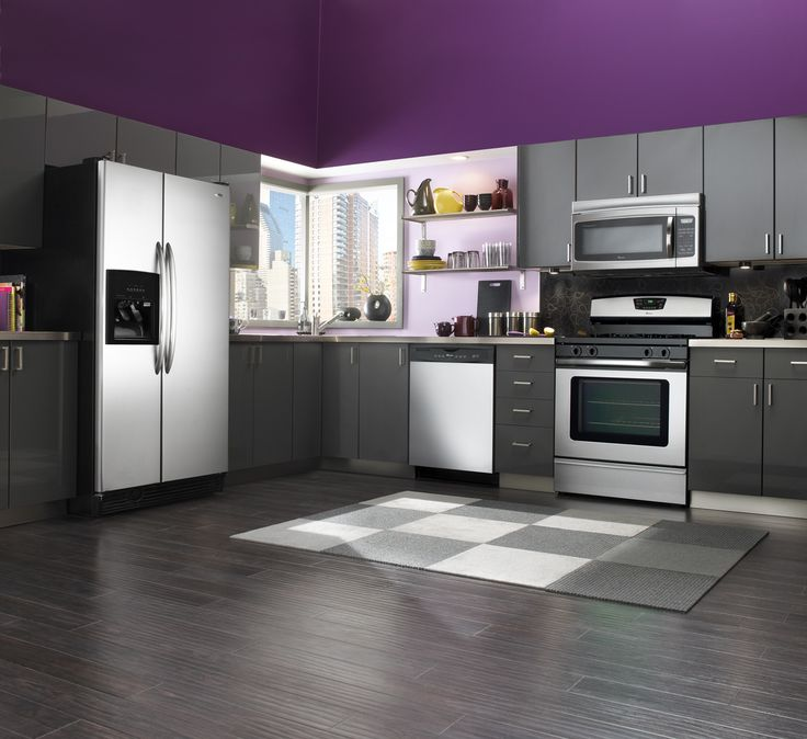 17 Best Ideas About Purple Kitchen Cabinets On Pinterest Purple Cabinets Purple Kitchen And
