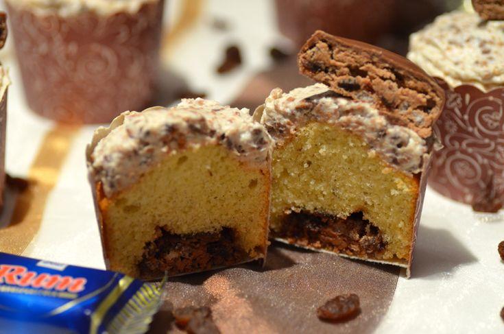 Ninas kleiner Food-Blog: Ritter-Sport-Rum-Cupcakes