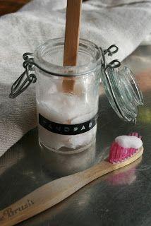 Agnes handmade: tandpasta