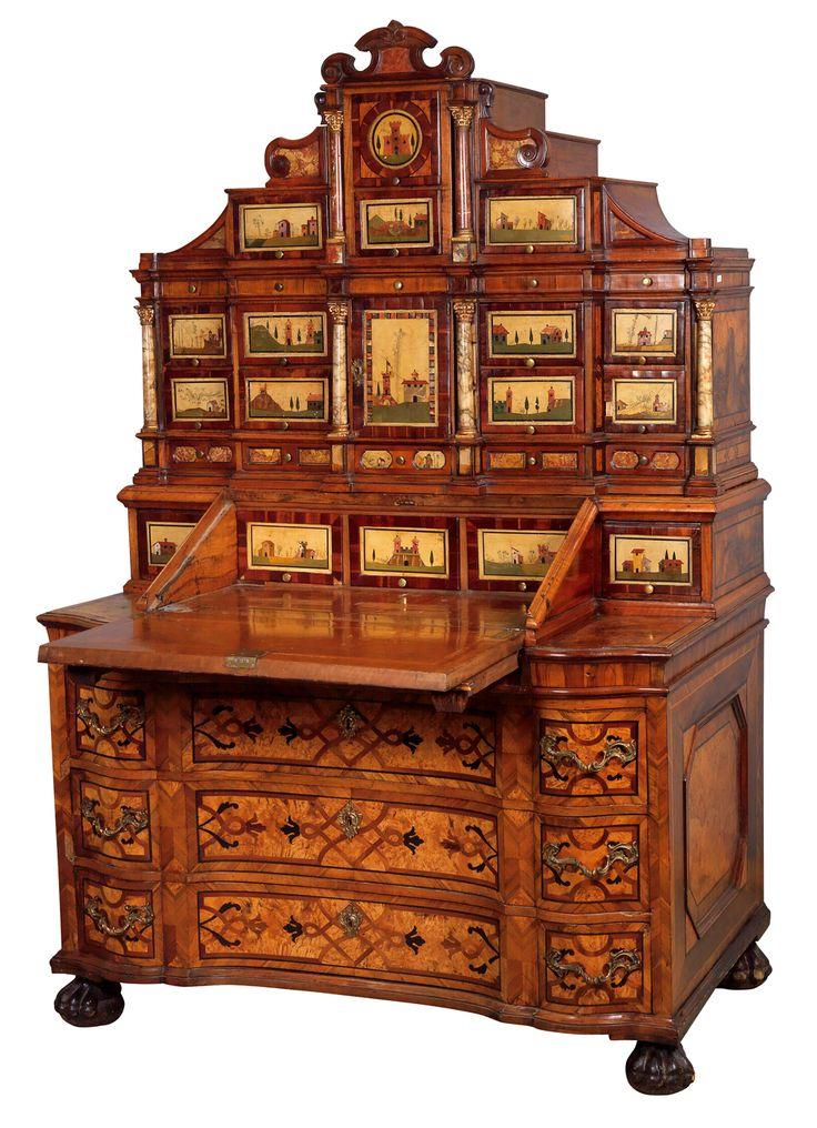 best 20 antique writing desk ideas on pinterest writing. Black Bedroom Furniture Sets. Home Design Ideas