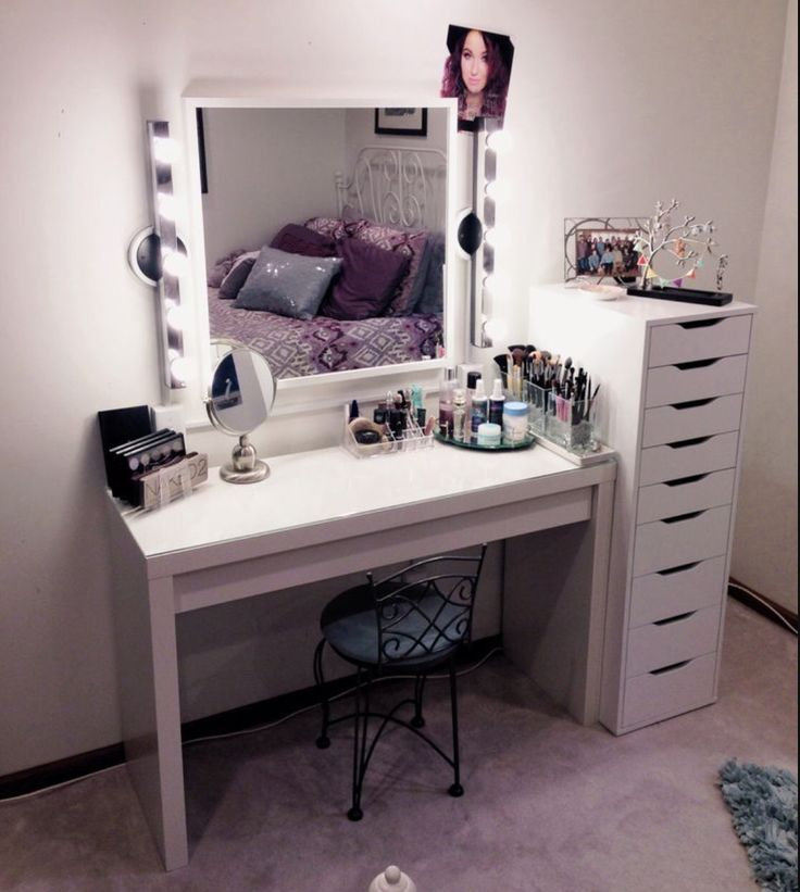 Ikea is calling my name makeup room pinterest for Ikea ma dchenzimmer
