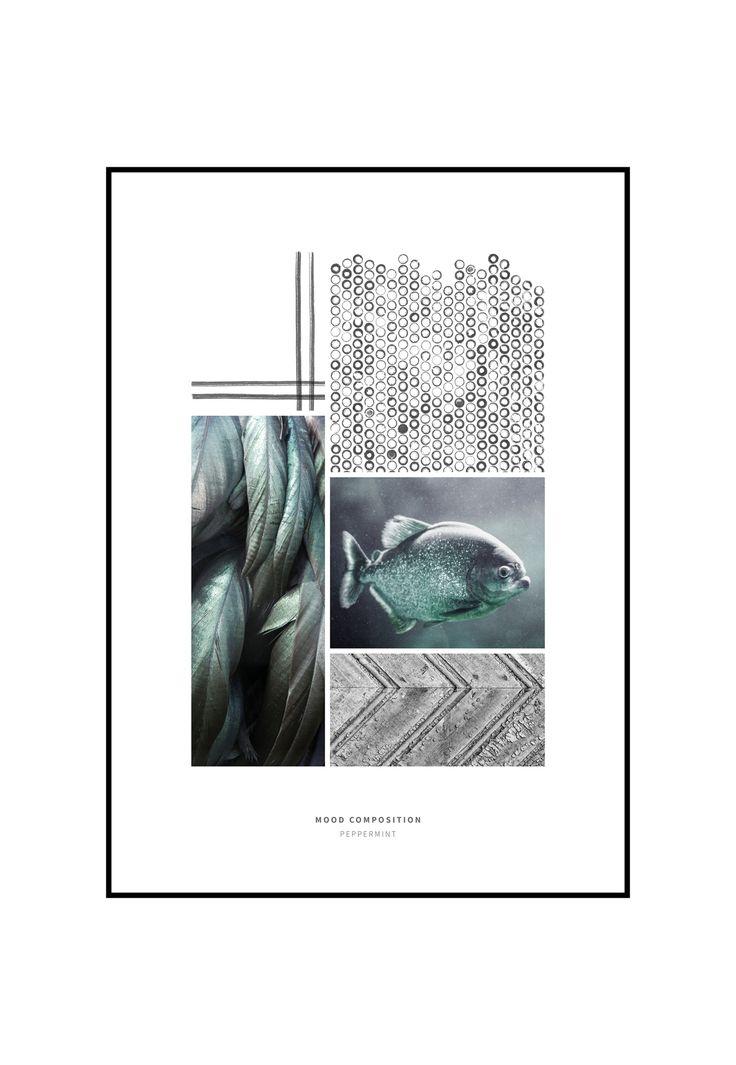 Art print collagerne er mixed-media. Fotos og original håndtegnet grafik. Udført af designer og fotograf Christina Christensen. Produceret hos INCADO.