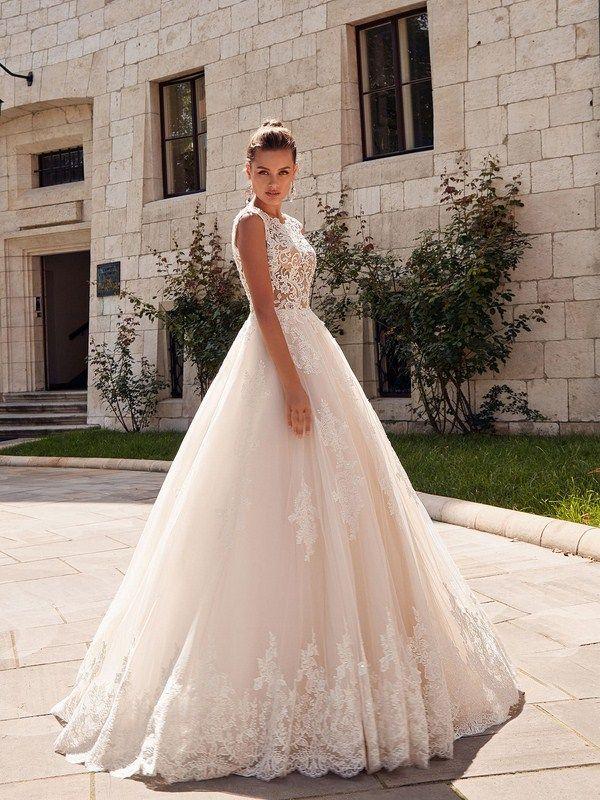 c542694b1f8 Свадебные платья 2019-2020  топ-10 трендов свадебной моды