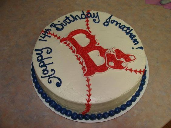 Boston Red Sox Cake - The Cake Lovers