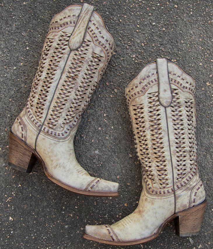 Corral Braided Cowboy Boot - Women's Shoes   Buckle