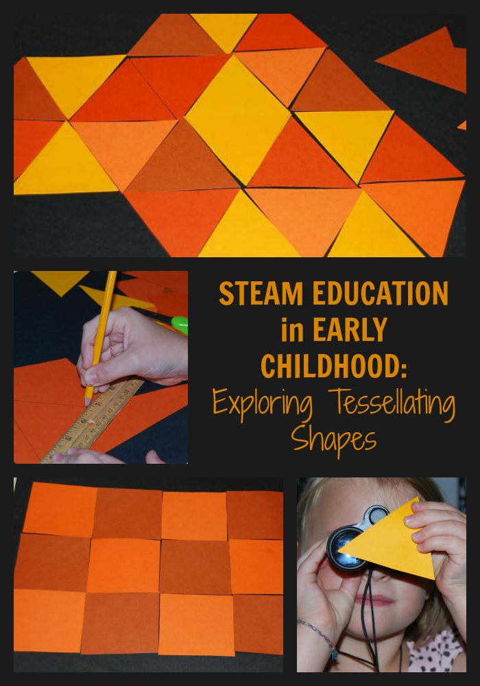 STEAM Education in Early Childhood_Exploring Tessellating Shapes