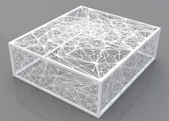 Arktura - Nebula Square 32 Coffee Table