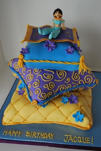 aladdin cake decorations | Princess Jasmine - cake! | LUUUX