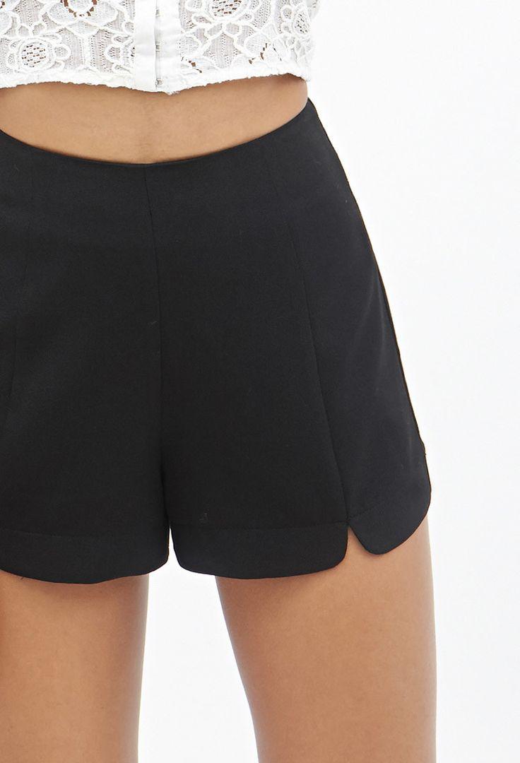 Shorts in Crêpe a Vita Alta - Shorts - 2000059016 - Forever 21 EU Italiano