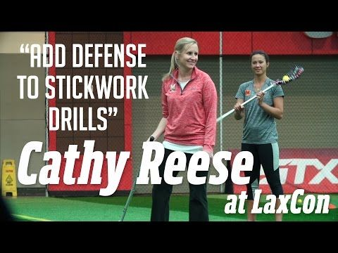 Cathy Reese at LaxCon: Add Defense - YouTube