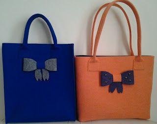 biżuteria soutache, haft koralikowy, torby z filcu: z kokardami