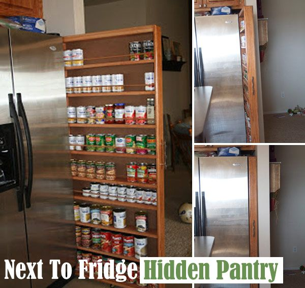 Slide-out-pantry-next-to-fridge