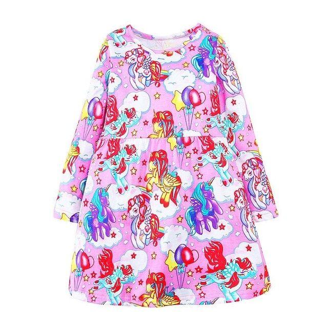 883c08412514 Baby Girls Unicorn Dresses | Unicorn madness | Dresses, Unicorn ...