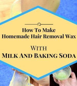how to make hair removal wax