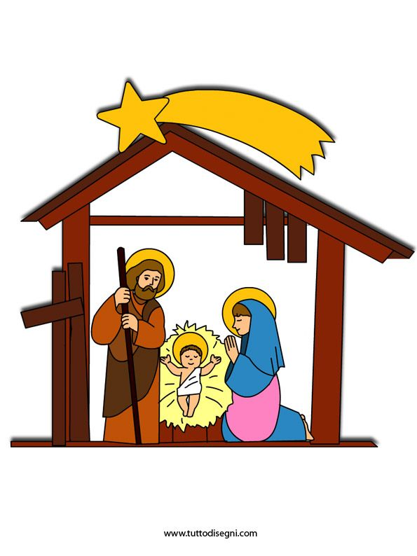 Unforgettable Cliparts Presepe Di Natale Clipart House 49