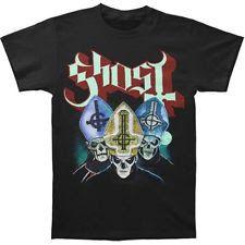 Authentic GHOST Band Trinity Papa Emeritus T-Shirt S M L XL 2XL NEW