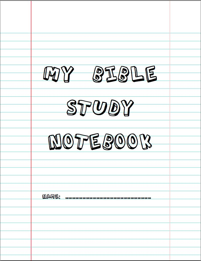 For GC,My Bible Study Notebook. good to have for the kids in class, they can track their learning and feel accomplished