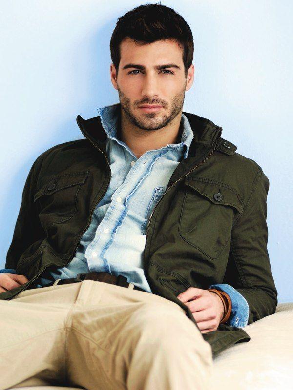 .Beards, Justin Clynes, Menfashion, Style, Candies, Denim Shirts, Jackets, Men Fashion, Casual Looks