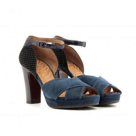 Sandales à plateforme en daimChie Mihara ANLELu