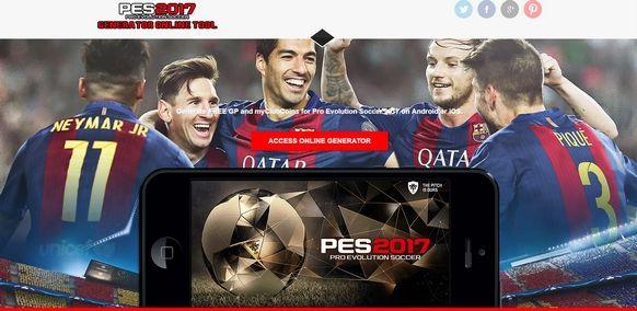 Pro Evolution Soccer 2017 Hack