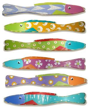 Wooden Fish Stixs - eclectic - artwork - new york - by Suzanne ...