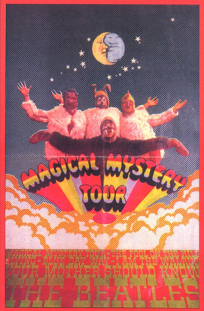 Magical Mystery Tour is coming to take you away. No I'm fine thanks. . .