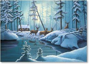 christmas cards leanin tree