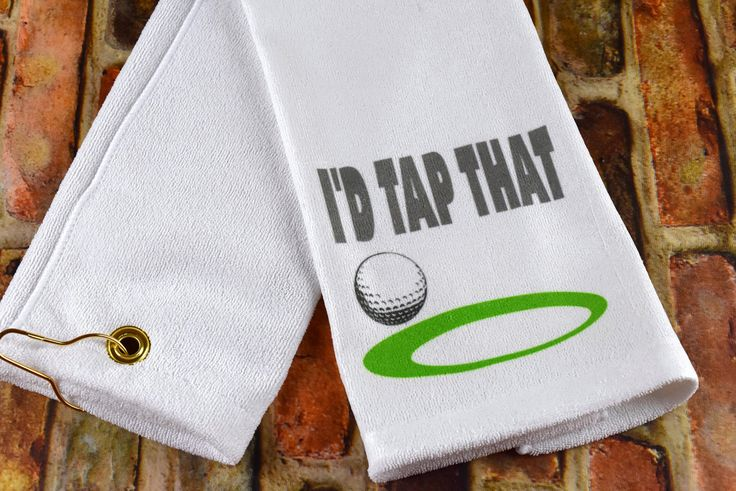 Golf Towel | Gift for Golfer | Scrubber Golf Towel | Funny Golf Towel | Father's Day Gift | Gift for Guys | Custom Golf Towel | Gift for Dad by 2KrazyLadiesCrafts on Etsy