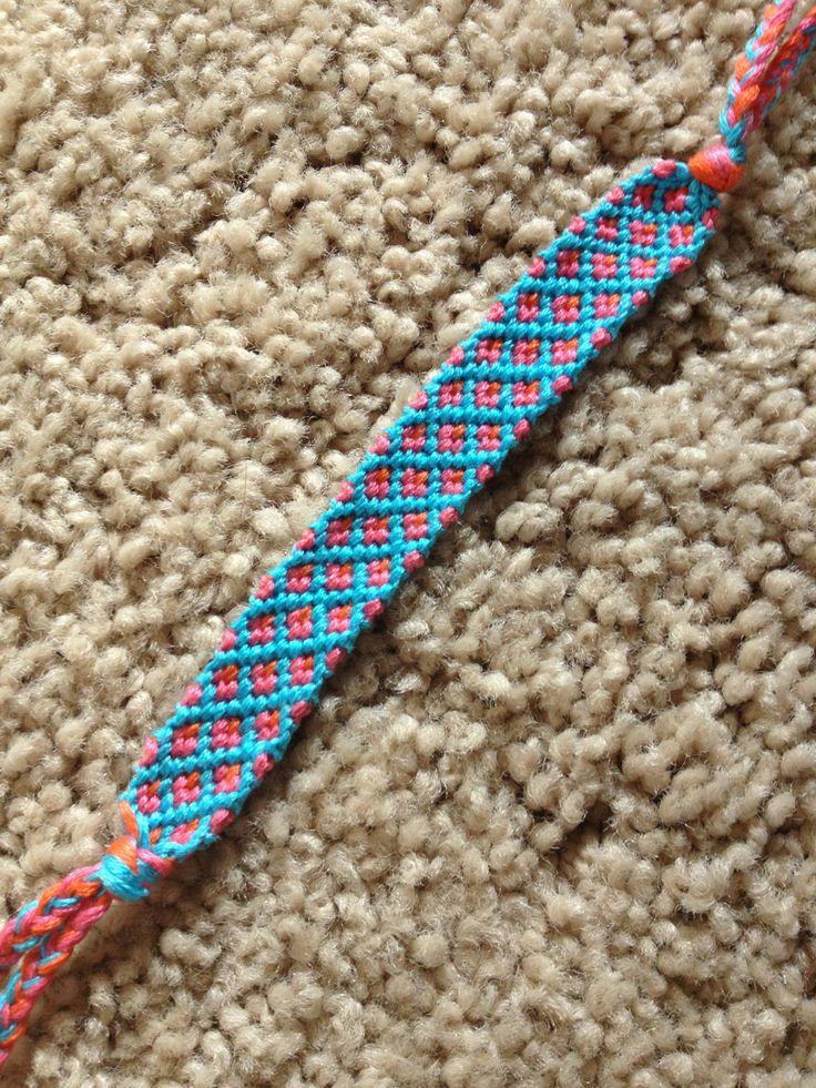 Added by mleroseb Friendship bracelet pattern 7969 #friendship #bracelet