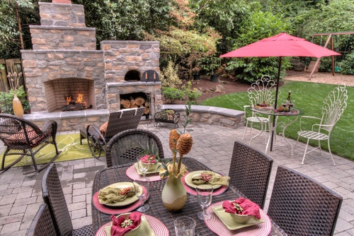 1000 Images About Fireplace With Pizza Oven On Pinterest