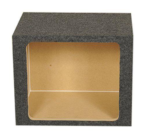 Q Power HD115 SQ Single 15-Inch Sealed Custom Speaker Box for Kicker L7 Subwoofer