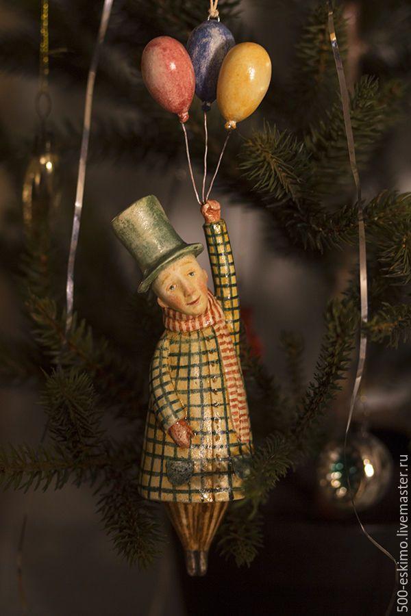 Купить Путешествие. Ёлочная игрушка - Новый Год, ёлочная игрушка, украшение на ёлку, новогодний подарок