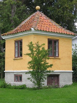 Pavillon de jardin de peintre Johannes Larsen en Kerteminde