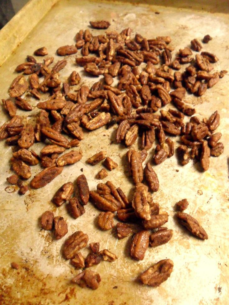 Easy Thanksgiving Dessert from Hungry Gator Gal: Glazed Pecans