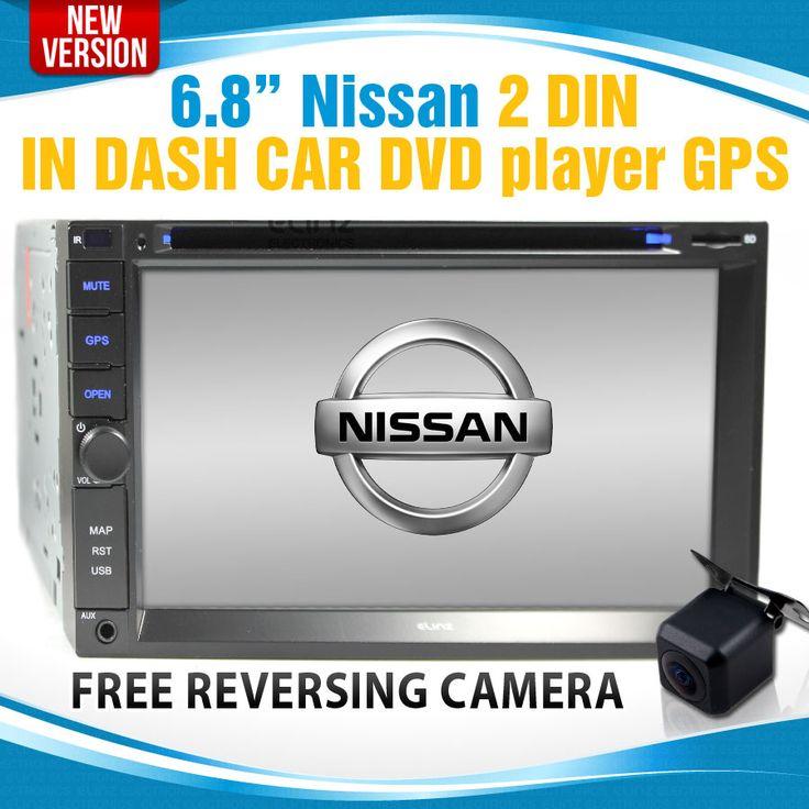Nissan in dash gps car dvd player  In dash gps  Elinz