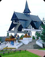 Kościół i parafia w Ludźmierzu są najstarszymi na Podhalu. W 1234 roku rozpoczęła się budowa świątyni ku czci Matki Boskiej. Zakon cystersów opiekował się tym drewnianym kościołem aż do 1824 roku. Murowana neogotycka świątynia, która istnieje do dzisiaj, powstała pod koniec XIX wieku, na miejscu rozebranego modrzewiowego kościoła.