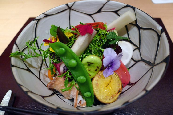 Modern kaiseki restaurant in Tokyo called Den
