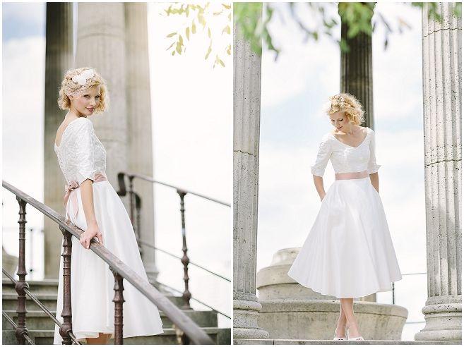 15 besten Brautkleider Bilder auf Pinterest | 50er jahre, Ausschnitt ...