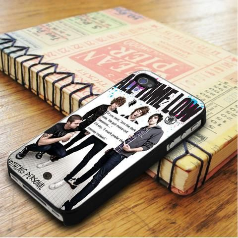 All Time Low Qoutes iPhone 5|iPhone 5S Case