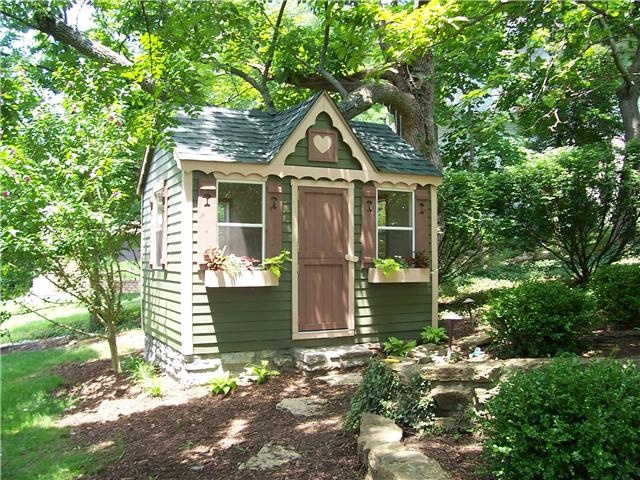 Victorian Backyard Playhouse : Victorian Playhouse  Favorite Places & Spaces  Pinterest
