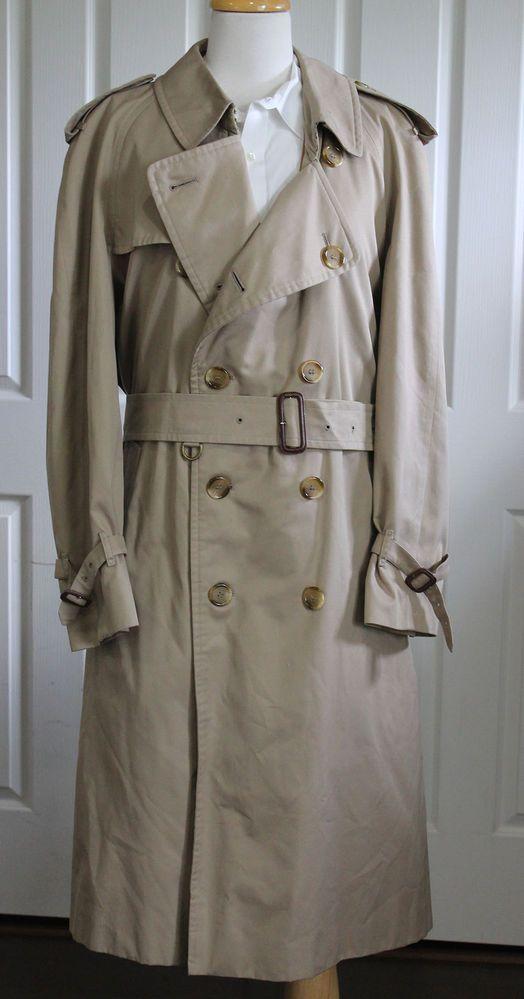 's Lord & Taylor Overcoat Medium 42R: 's Wool Houndstooth Coat Medium: 's London Fog Overcoat Medium.