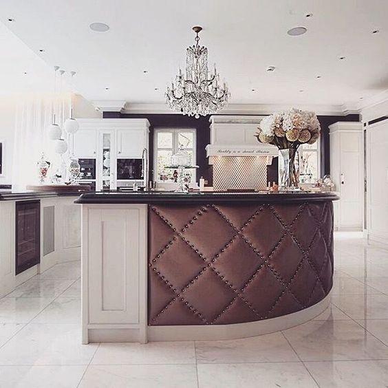 "Check this fabulastic ""kitchen""… Did you liked it? | www.delightfull.eu #delightfull #kitchendesignideas #kitchenlighting #kitchendesign"