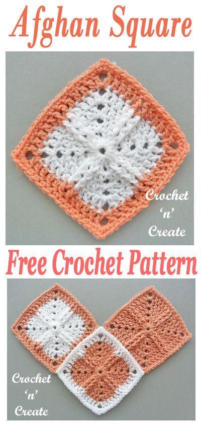 Afghan Square UK Free Crochet Pattern | crochet afghans | Pinterest ...