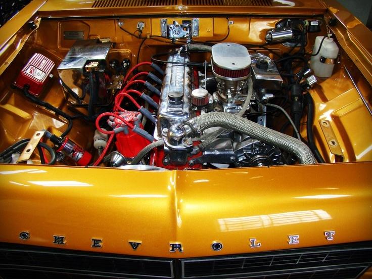 Chevy Opala engine