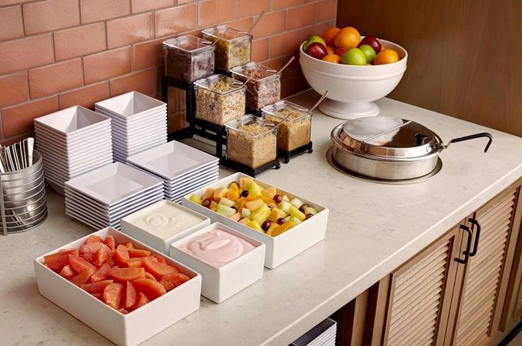 In honor of Better Breakfast Month, start your day with Hyatt House's complimentary Morning Spread.
