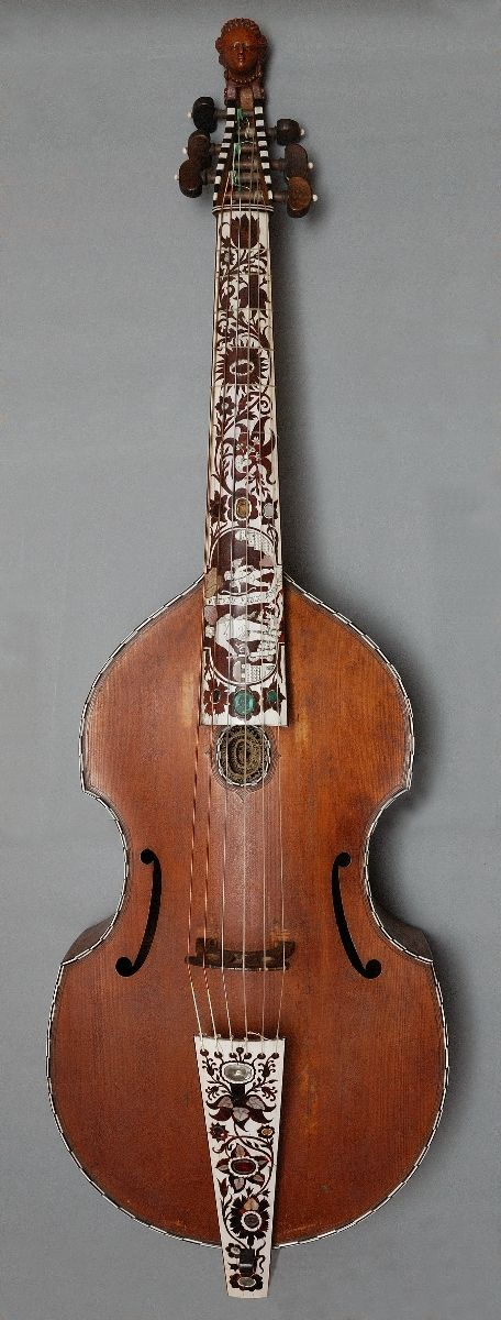 Viola da gamba, tenor. Joachim Thielke, Hamburg 1685. (foto: Ole Woldbye)
